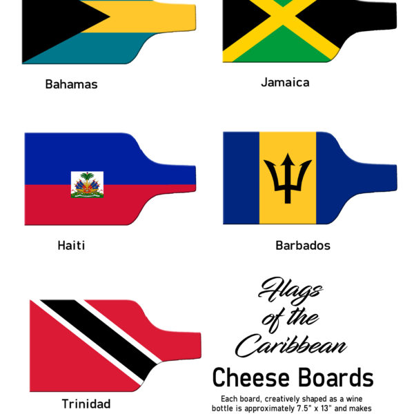 Flag Cheese Board Page