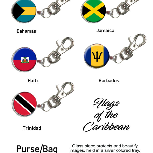 Flag Purse Charms Page