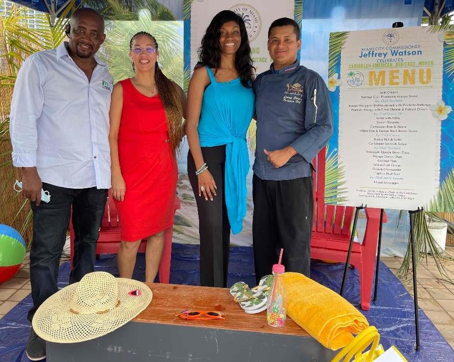 Chefs of the Caribbean Festive memorie